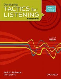 کتاب tactics for listening