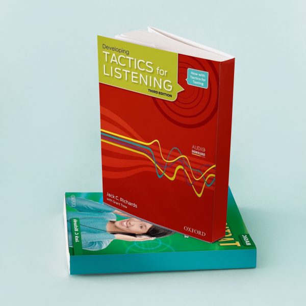 کتاب tactics for listening developing